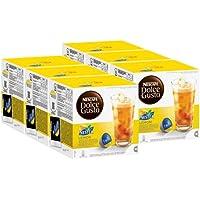 Nescafé Dolce Gusto Nestea Lemon, Paquete de 6, 6 x 16 Cápsulas