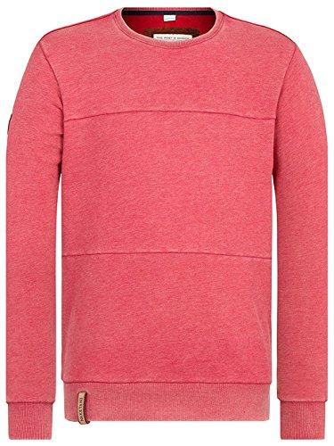 Naketano Male Sweatshirt Was diese Zielgruppe heritage purple melange