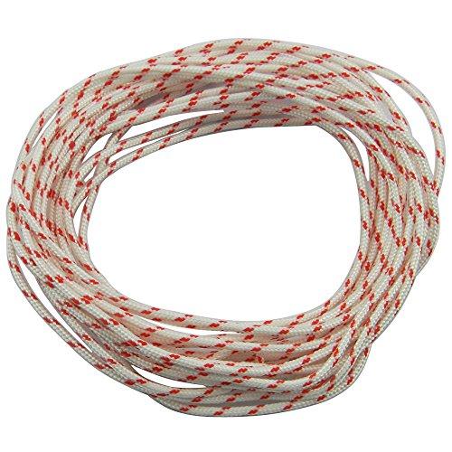 itaco 08S 009010011012015017018019020Recoil Starter Seil 10-meter Pull Cord (Durchmesser: 3,0mm) für Husqvarna Stihl Sears Craftsman Poulan Briggs Stratton Rasenmäher -