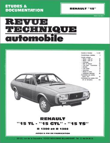 Descargar Libro Renault 15 TL-GTL et TS (1972/1979) de ETAI