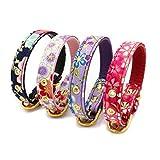 iodvfs Halskette für Hunde und Katzen, japanischer Stil, verstellbar