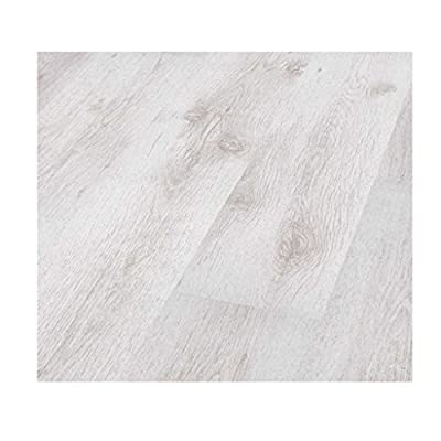 Westco C474107 7mm Oak Laminate Flooring Plank - White - cheap UK sofabed shop.