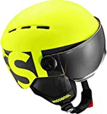 Rossignol Boy jr-neon gelb/Black Kinder Visier Helm, gelb, X-Small/Small