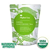 Chinese Gunpowder Green Tea. The Perfect Versatile Green Tea for Health and Wellbeing. Packed with Flavor, Antioxidants and a Myriad of Health Benefits You