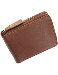 Visconti Darwin Collection HAWKING Leather Zip Round Wallet DRW31