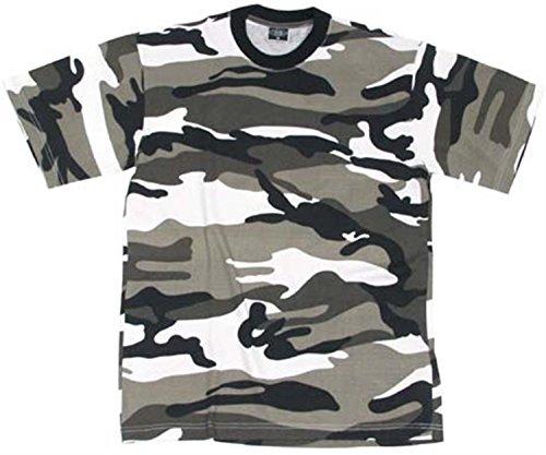 normani US/BW T-Shirt, klassisches Armee-T-Shirt, in 13 Auswahl, in den Größen S-3XL Farbe Urban Größe XXL - Armee Ein T-shirt