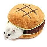 Hamster Betten, Chinchilla Käfig Zubehör Hängematte, Hamster Spielzeug für Kleintiere Sugar Glider Eichhörnchen Chinchilla Hamster Ratten Spielen Schlafen