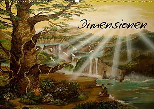 Dimensionen (Wandkalender 2020 DIN A2 quer): zwischen Zeit und Raum (Monatskalender, 14 Seiten ) (CALVENDO Kunst)