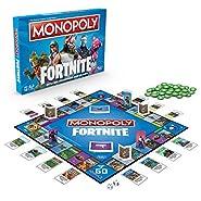 Versione in lingua inglese fortnite ventole, questa edizione del gioco Monopoly è ispirato al popolare videogioco fortnite, non è ciò che giocatori propria; si tratta di quanto tempo si possono sopravvivere Nella battaglia Monopoly: fortnite ...