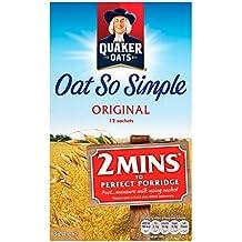 Quaker Avena Así Simple 12 x 27g