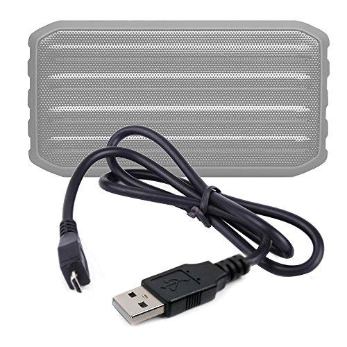 DURAGADGET Práctico Cable Micro USB De Sincronización De Datos Para Altavoz Bluetooth Techvilla S01 - De Alta Calidad