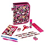Minnie Mouse Zip Up Stationery Kit