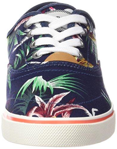 Wrangler Damen Icon Board Sneakers Blau (385  Blue Tropical)