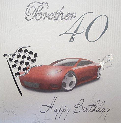 ba40-Rennwagen, b Happy Birthday Brother, 40