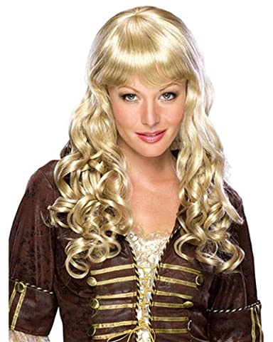 Blonde Elise Adult Wig - Rubies Elise Mixed Blonde Curly Wig With