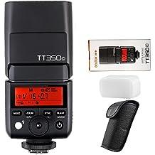 Godox Mini TTL GN36 Hss 1/8000s 2.4GHz Flash Godox TT350 Flash Speedlite (Godox TT350C Camera Flash Speedlite)