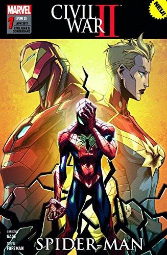 Civil War II Sonderband: Bd. 1 (von 3): Spider-Man (Civil Spiderman War)