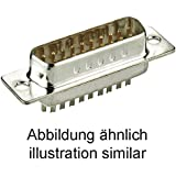 Goobay DML 09 SUB-D-Standard Stiftleiste 9-polig Lötkel