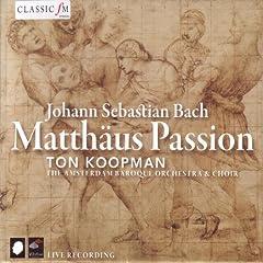 """Matth�us Passion, BWV 244: Recitativo, """"Nun ist der Herr zur Ruh gebracht"""""""