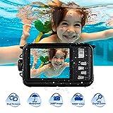 Appareil Photo Etanche Numérique HD 1080P 24.0MP Camera sous Marine pour plongée en...
