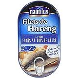 Nautilus Filets de Harengs Msc 190 g - Lot de 4