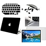 "Go Crazzy MacBook Pro 13.3"" Case. Laptop Frosted Matte Rubberized Hard Cover Case Skin+Silicon Keyboard Cover+Clear LCD Screen Protector+Anti-dust Plug+ Touchpad Protector For Apple MacBook Pro 13.3 inch with CD/DVD Drive Model:A1278"