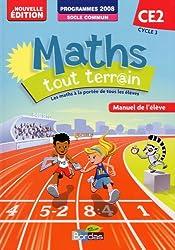 Maths tout terrain CE2  Manuel de l'élève