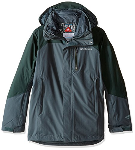 Columbia Men's Lhotse II Interchange Jacket, Deep Green/Deep Woods, XX-Large