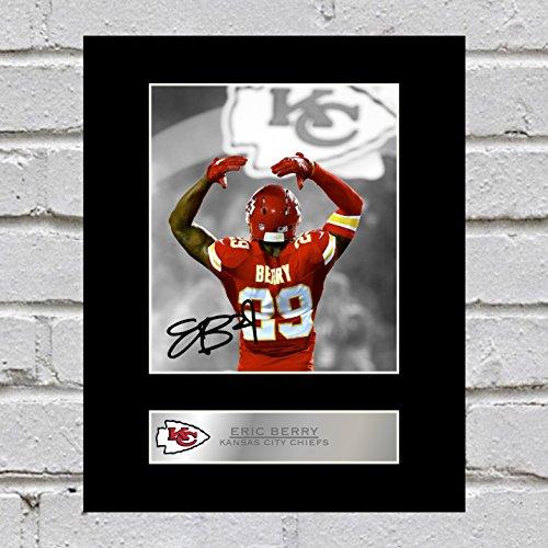 Eric Berry Signiert Foto Display Kansas City Chiefs