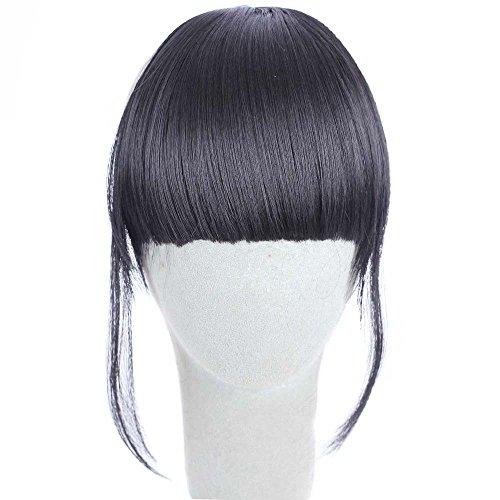 Watopi - Jolies filles - Clip sur le devant - Extension de cheveux - Frange de cheveux - Frang