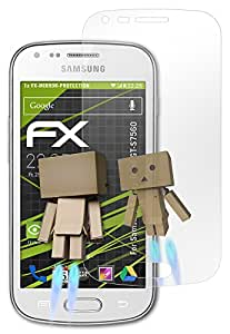 atFoliX Protettore Schermo Samsung Galaxy Trend (GT-S7560) Pellicola a specchio - FX-Mirror con effetto specchio