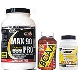 Le kit comprend: Protein 90% de protéines 3 sources de vitamines goût cacao + BCAA acides aminés de 750 avec de...