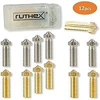 ruthex - Juego de boquillas para impresora 3D Anycubic i3 Mega Prusa i3