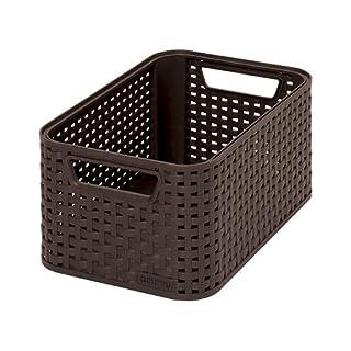 CURVER 03614-210-00 Aufbewahrungsbox Style S, 7 L, dunkelbraun