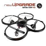 Drone con Telecamera 720P HD FPVRC UDI U818A UFO Quadricottero Drone RC 2.4G 4CH 6 Axis Gyro Modello...