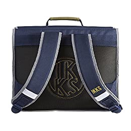 IKKS Backpacker in Tokyo Cartable, 38 cm, Bleu