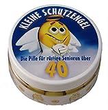 Kleine Schutzengel - Pillen zum 40. Geburtstag (Traubenzucker)