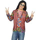 Camiseta disfraz de Hippie para hombre