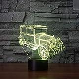Lampe de table d'ambiance de voiture classique rétro