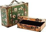 Koffer-Set als Dielen-Schmuck, 356254