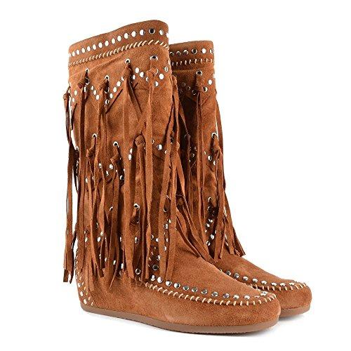 Ash Schuhe Shilo Sienna Boots aus Wildleder Damen Sienna