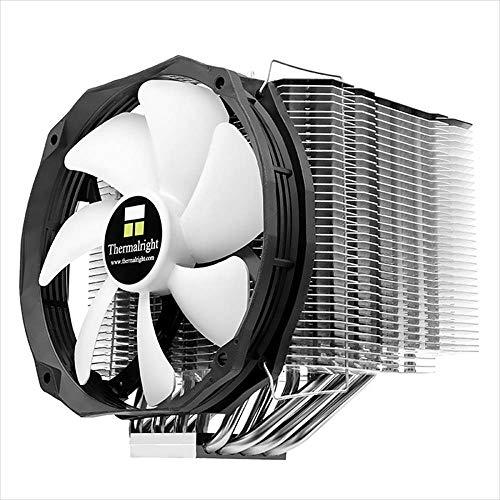 Thermalright 100700733 Le Grand Macho RT, High-End CPU-Kühler Für Intel Und AMD CPUs, TY 147 B PWM-Lüfter (300 - 1.300 U/min, 14 - 20 dBA, 28,7 - 125 m³/h) (Lga775 Cpu Kühler)