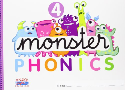 Monster Phonics 4. (Anaya English) - 9788467832785