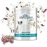 Ida Plus - Kräuter Beruhigung (150 g) – 100% natürlich in Tee-Qualität für Hunde & Katzen, Nahrungsergänzungsmittel für die Beruhigung