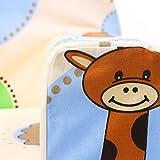 LULANDO Classic Kindersofa Kindercouch Kindersessel Sofa Bettfunktion Kindermöbel zum Schlafen und Spielen ZOO Ecru - 4