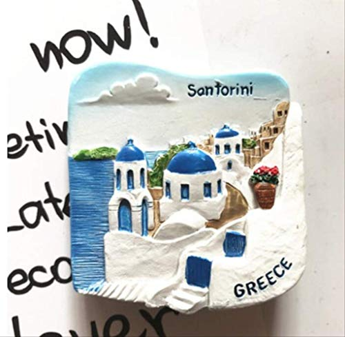 Song Salbei (Zyhoue Kühlschrankaufkleber Griechenland Santorin Kühlschrank Pastes Europa Reisen Alle Über Die Dreidimensionale 3D Magnetische Aufkleber Salbei)