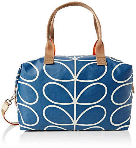 orla-kiely-womens-giant-linear-stem-zip-holdall-top-handle-bag-blue-marine