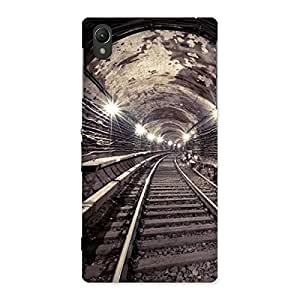 Impressive Track in Tunnel Back Case Cover for Sony Xperia Z1