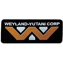Alien Movie Weyland-Yutani Corporation Logo Patch Iron On Parche Bordado Termoadhesivo Hecho Por Titan One Europe