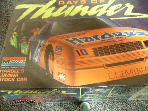 hardees-chevy-lumina-18-model-kit-1990-by-monogram